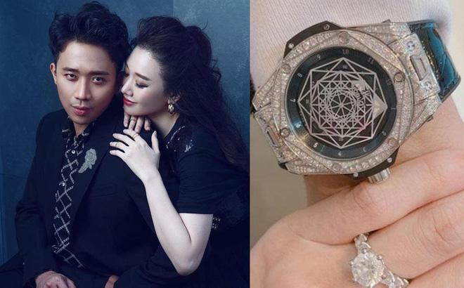 Hari Won: Trấn Thành nói đồng hồ anh ấy mua trị giá 1 tỷ, tôi phải sửa lại ngay 0