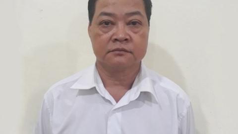 Ông Dương Xuân Kiểm tại cơ quan điều tra