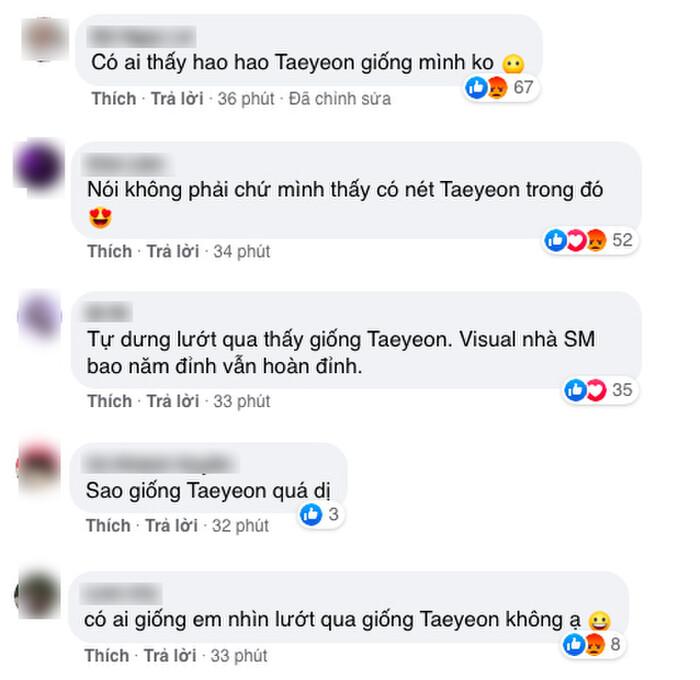 Nhiều người nhận xét Winter có nét giống Taeyeon.