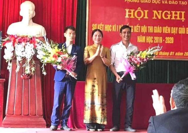 Ngành giáo dục huyện Ninh Giang tôn vinh 2 thầy giáo duy nhất của cấp học mầm non