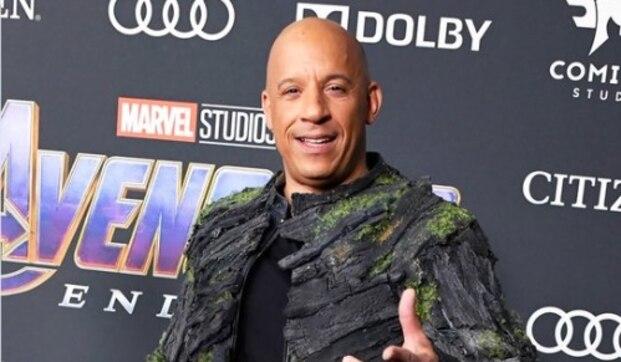 Nam diễn viên Vin Diesel