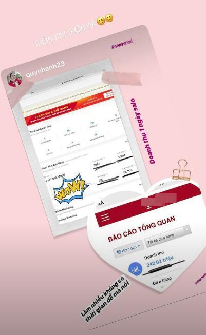 Vừa tiết lộ doanh thu 1 tháng gần 2 tỷ, bà bầu 9X Quỳnh Anh - vợ cầu thủ Duy Mạnh đã mạnh tay sắm cả núi đồ hiệu, ước tính giá trị không dưới trăm triệu 1