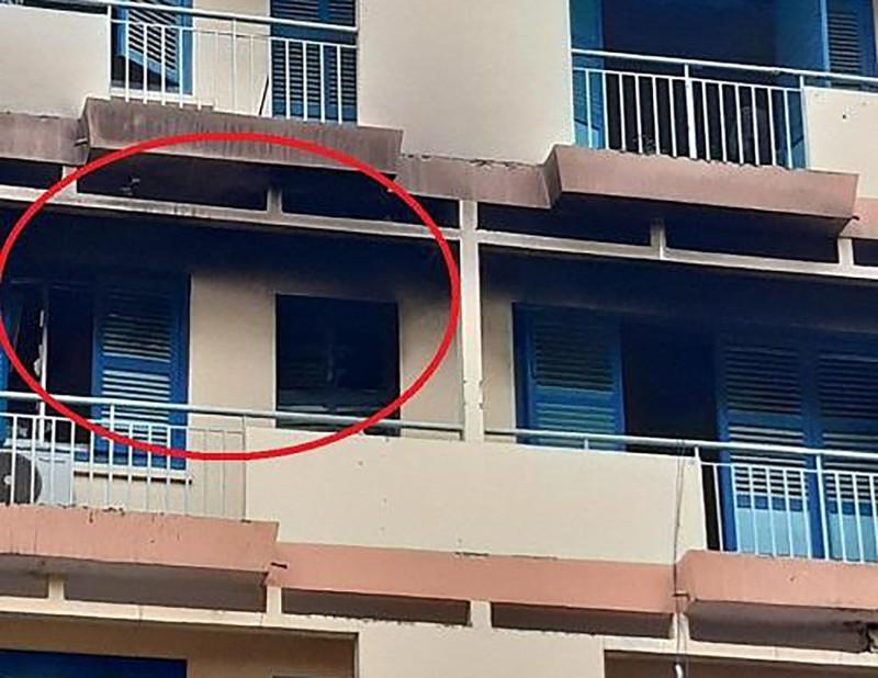 Căn phòng xảy ra vụ hỏa hoạn - Ảnh: Plo.vn