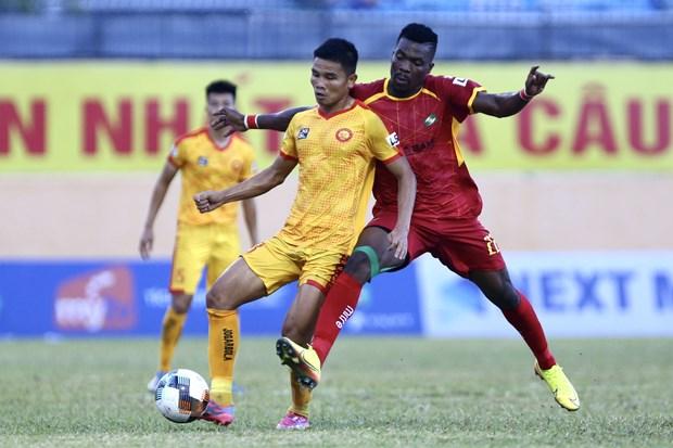 V-League và hạng Nhất năm 2020 tiếp tục được hoãn vì dịch COVID-19. (Ảnh: Nguyên An/Vietnam+)