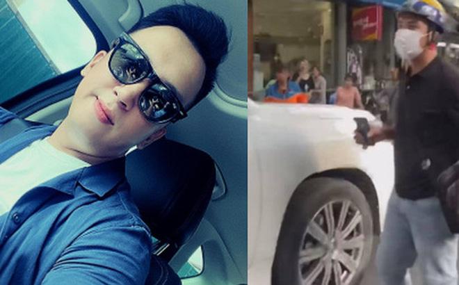 Chàng trai chạy xe ôm chiếm trọn spotlight trong clip đánh ghen trên phố Lý Nam Đế: 'Chị vợ nhờ mình vượt lên chặn đầu xe LX 570 và quay lại sự việc' 0