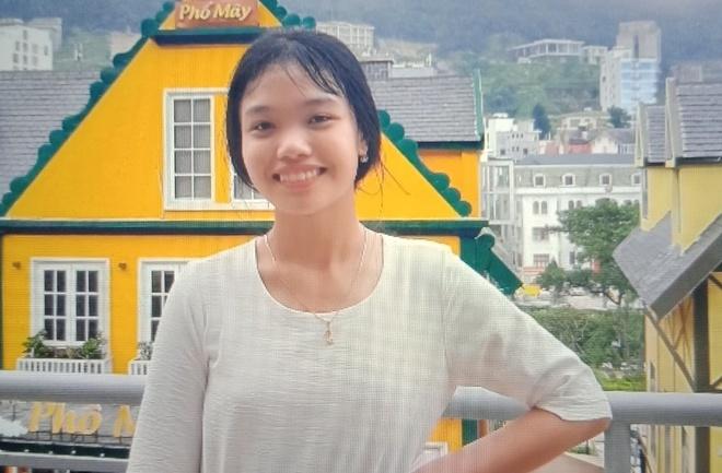 Nữ sinh Phạm Thị Kim Ngân được tìm thấy ở Lạng Sơn. Ảnh: Gia đình cung cấp.