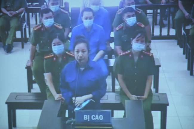 Bị cáo Nguyễn Thùy Dương