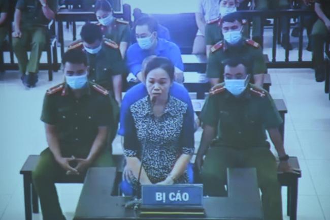 Bị cáo Trịnh Thị Minh Thúy