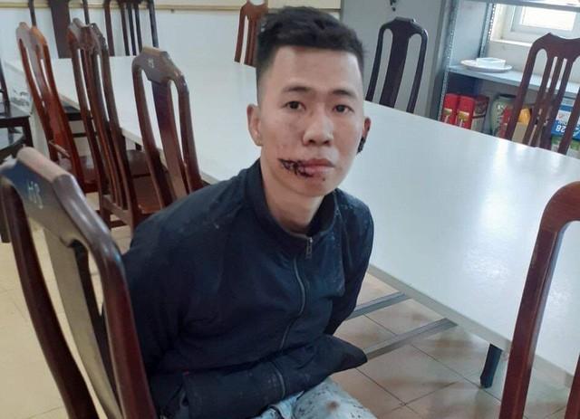 Nguyễn Văn Cảnh thời điểm bị CQCA bắt giữ sau khi gây án. Ảnh: TL