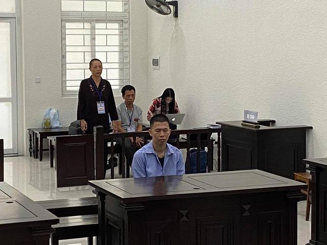 Bị cáo Nguyễn Văn Cảnh tại tòa chiều 24/9. Ảnh: C.Lê