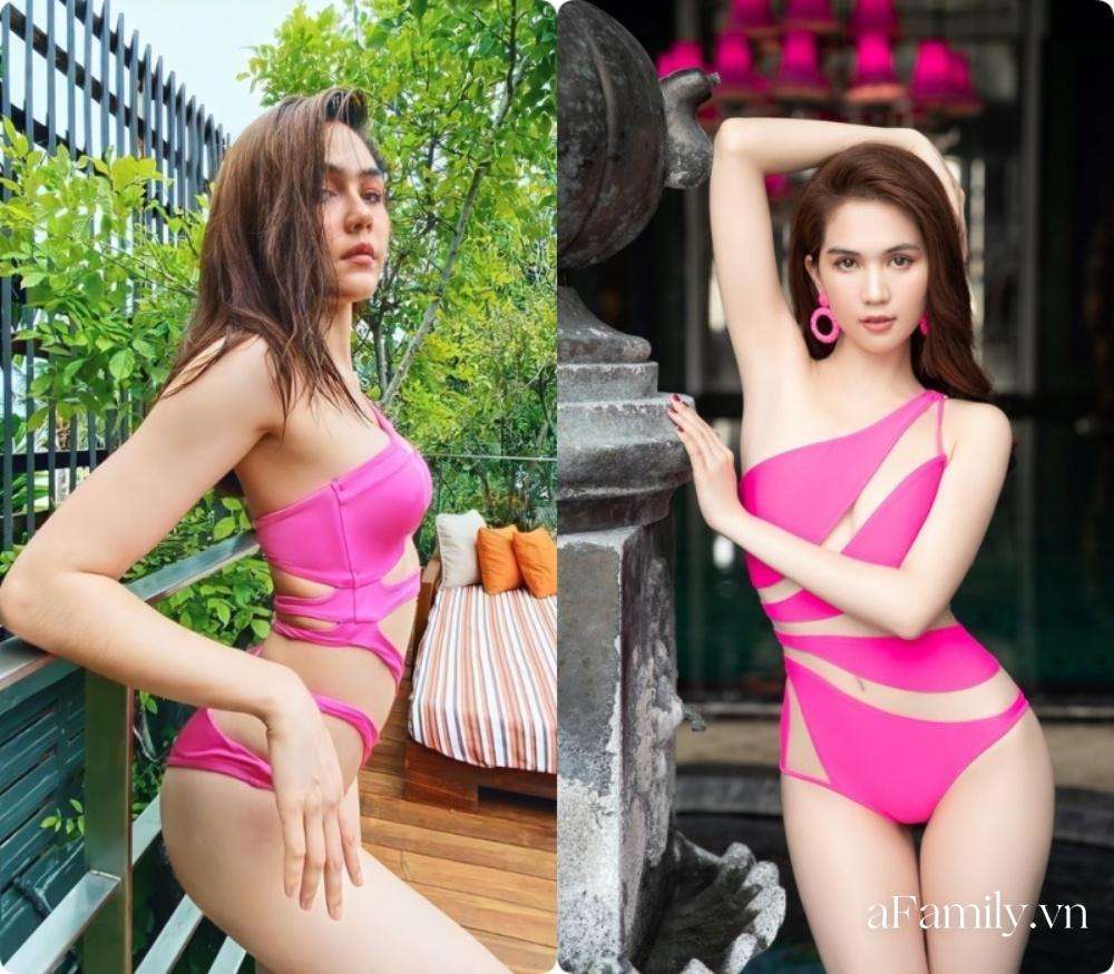 Gần 40 tuổi, bà mẹ 2 con đẹp nhất Thái Lan khoe đường cong đốt mắt với bikini táo bạo, Ngọc Trinh sao 'có cửa' trên cơ 7
