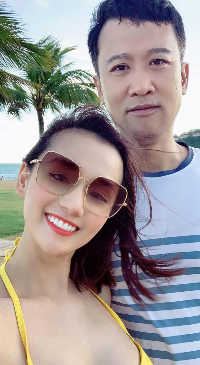 Lã Thanh Huyền thường xuyên có những chuyến du lịch sang chảnh bên chồng con.