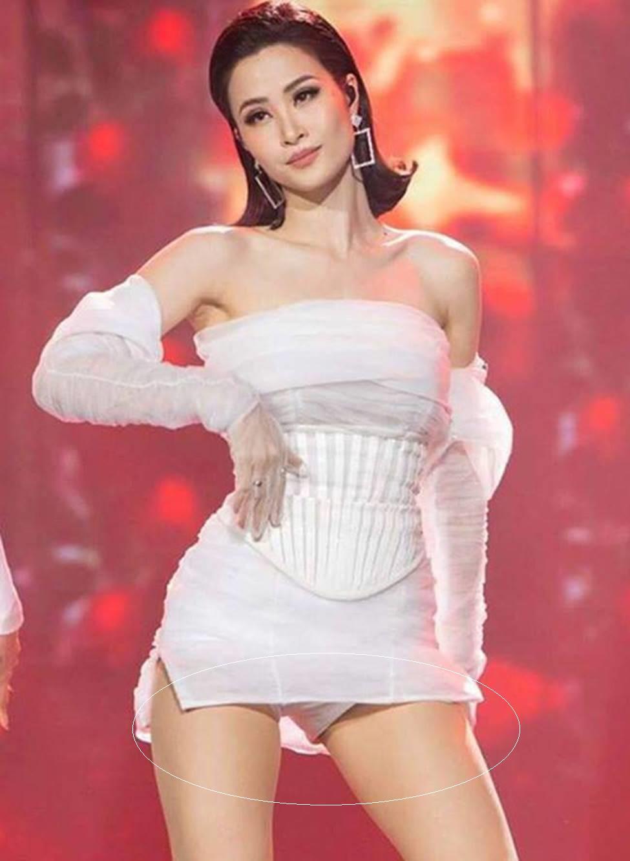 Riêng khoản chọn quần bảo hộ mặc trong váy ngắn thì Vbiz ăn đứt Kpop: Cứ nhìn Đông Nhi, Hiền Hồ là biết ngay 8