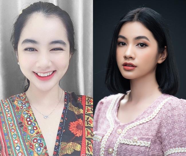 Thí sinh Nguyễn Thị Cầm Đan sở hữu gương mặt trong sáng cùng nụ cười rạng rỡ.