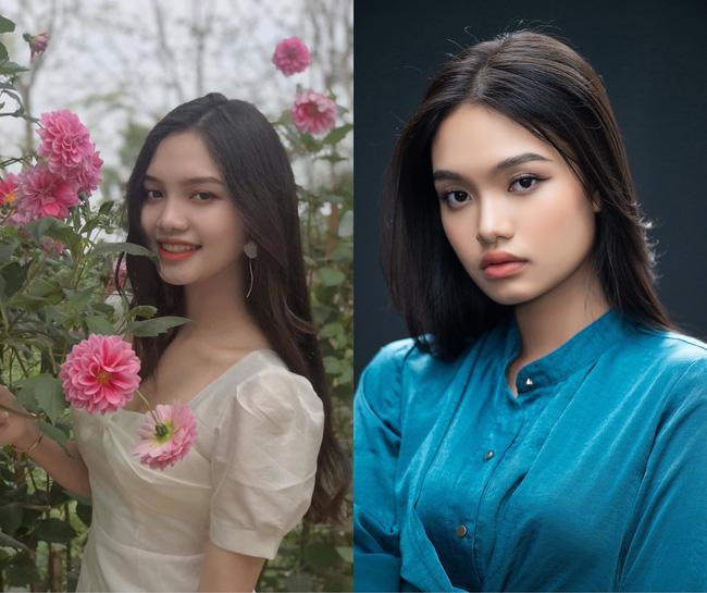 Thí sinh Nguyễn Thị Phượng sở hữu nhan sắc ngọt ngào.