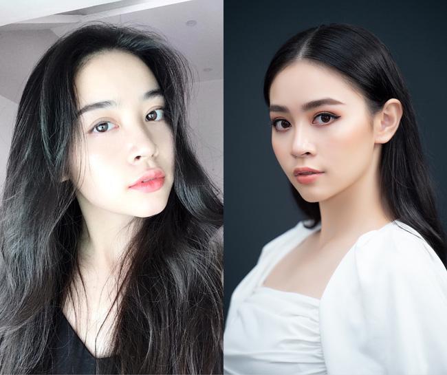 Chỉ tô điểm chút son nhưng gương mặt của Nguyễn Huỳnh Diệu Linh vẫn rất rạng rỡ.
