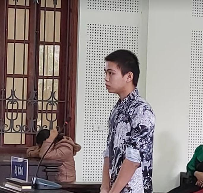 Bị Cáo Hoàng tại phiên tòa ngày 19-11