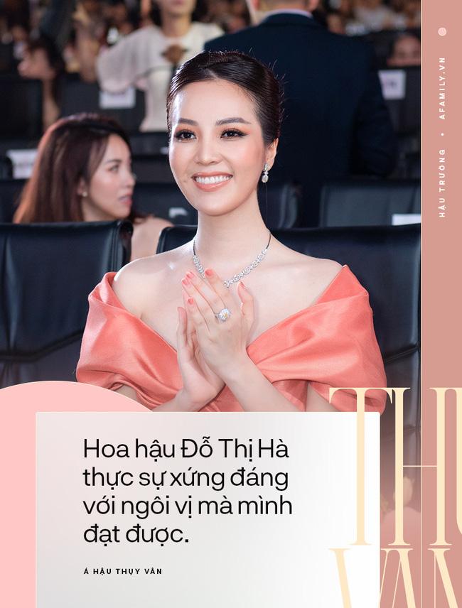 Phỏng vấn nóng giám khảo HHVN 2020 - Á hậu Thụy Vân: Tiết lộ tính cách thật và điều bí mật phía sau đôi chân mê người của Đỗ Thị Hà 3