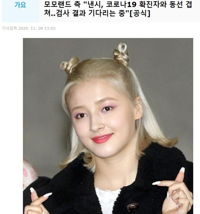 Nancy (MOMOLAND) bị chỉ trích vì tiếp xúc với người nhiễm Covid-19 phải hủy show hàng loạt, netizen tung bằng chứng chủ quan 0