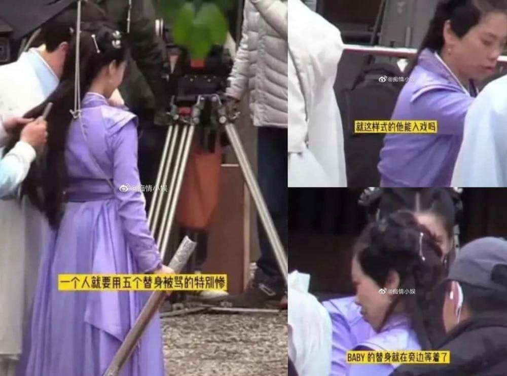Những bức hình được rò rỉ tại hậu trường Trần Duyên