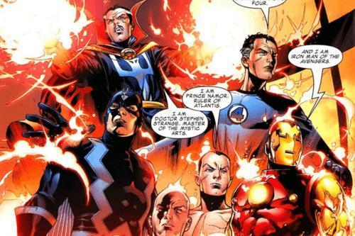 Marvel đang xây dựng nhóm Illuminati với toàn những gương mặt có 'số má' 0