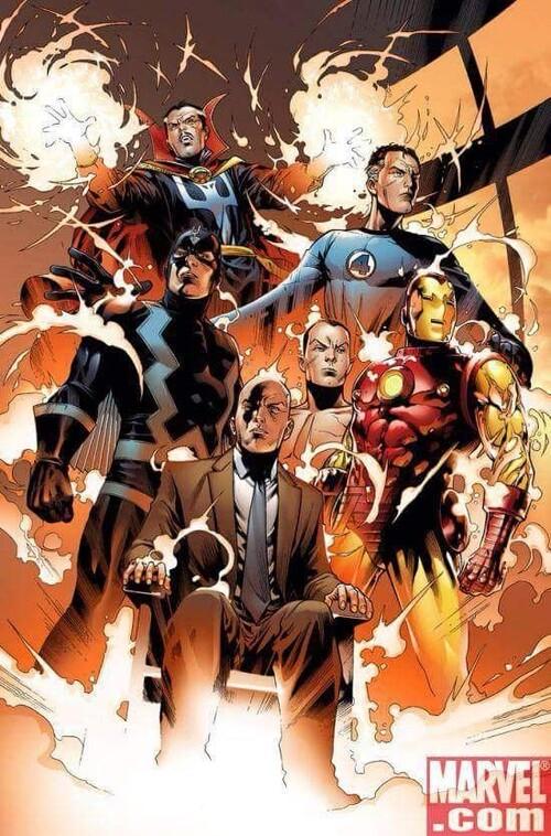 Marvel đang xây dựng nhóm Illuminati với toàn những gương mặt có 'số má' 2