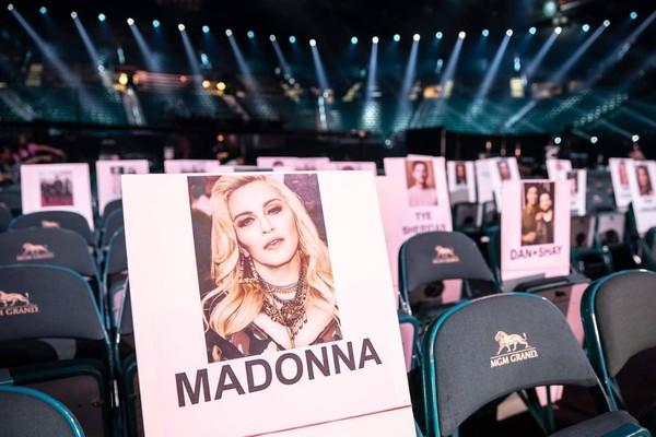 Huyền thoại nhạc Pop Madonna.