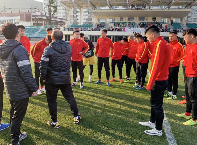 U23 Việt Nam trên sân tập