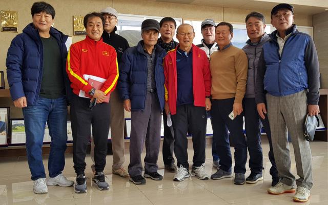 HLV Park Hang-seo gặp gỡ bạn cũ tại Hàn Quốc