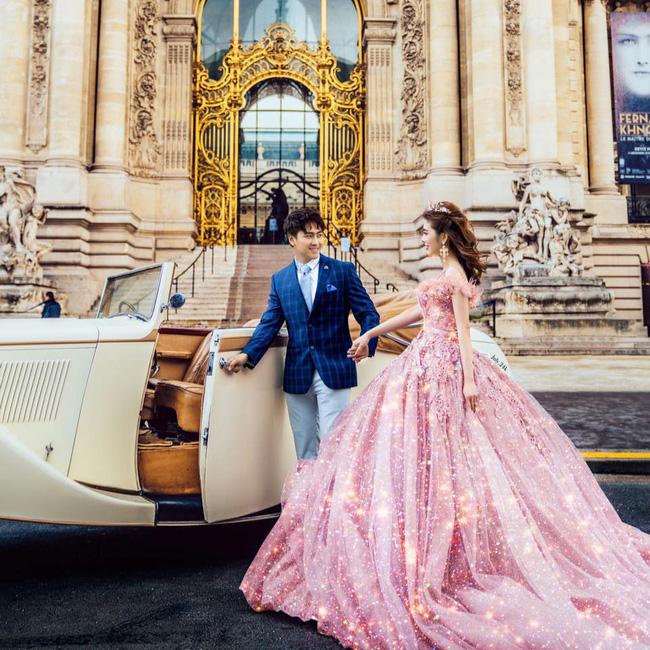 Giang Lê và ảnh cưới được thực hiện tại châu Âu