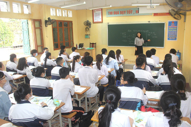 Bắt đầu từ ngày mai (27/3), học sinh THPT, GDTX trên địa bàn tỉnh Hải Dương được nghỉ học. Ảnh: Đ.Tùy.