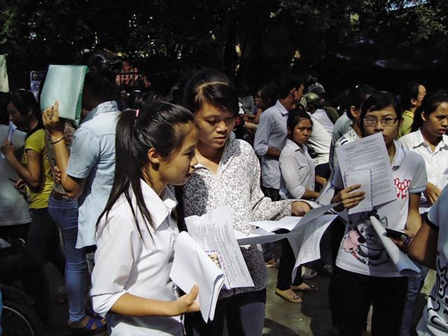 Nhiều ý kiến cho rằng, nếu bỏ thi THPT Quốc gia 2020 thí sinh sẽ vất vả hơn ở các kỳ thi đại học tổ chức riêng. Ảnh:TL.