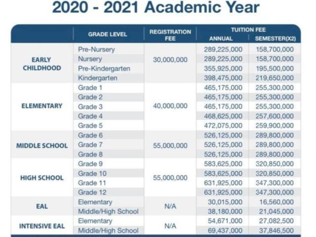 Sốc với mức học phí lên đến cả tỷ đồng/năm của các trường quốc tế ở TP.HCM 6