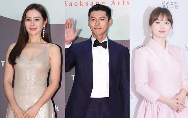 Mối quan hệ dây mơ rể má của Hyun Bin - Son Ye Jin và Song Hye Kyo.