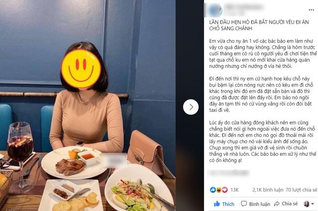 Bài đăng thu hút rất nhiều bình luận và chia sẻ trên mạng xã hội.