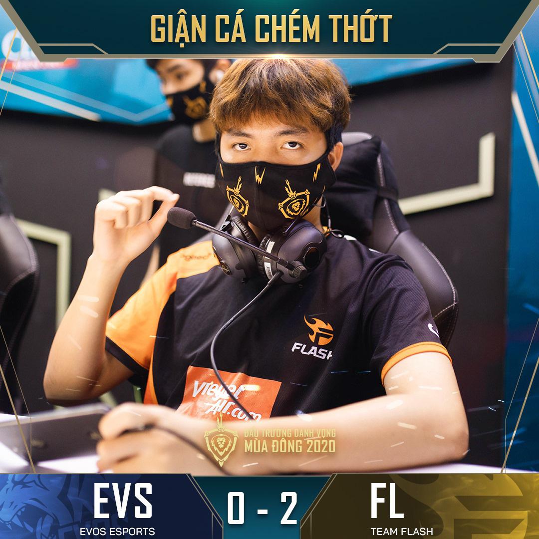 Đánh bại đối thủ yếu nhất ĐTDV mùa Đông 2020, Team Flash tìm lại được cảm giác chiến thắng sau hai thất bại liên tiếp 1