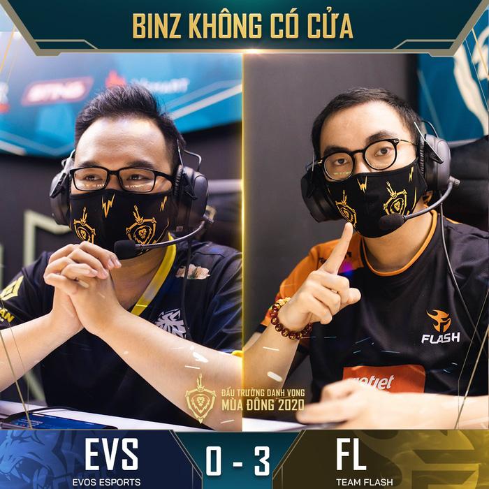 Đánh bại đối thủ yếu nhất ĐTDV mùa Đông 2020, Team Flash tìm lại được cảm giác chiến thắng sau hai thất bại liên tiếp 3