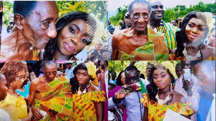 Một số hình ảnh của cặp đôi trong đám cưới.