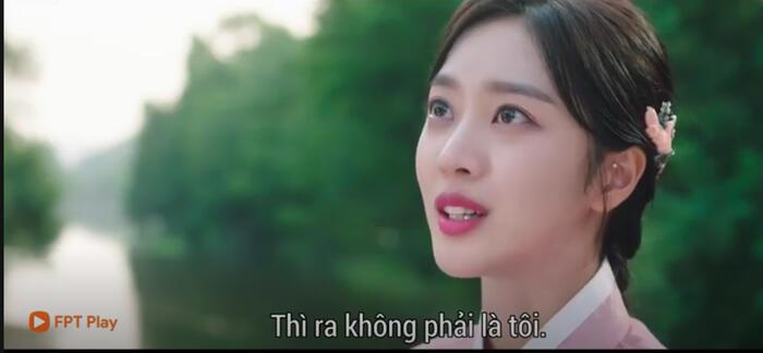 Sau nụ hôn bất ngờ, Ji Ah cho rằng anh đang hôn tình đầu mà không phải cô