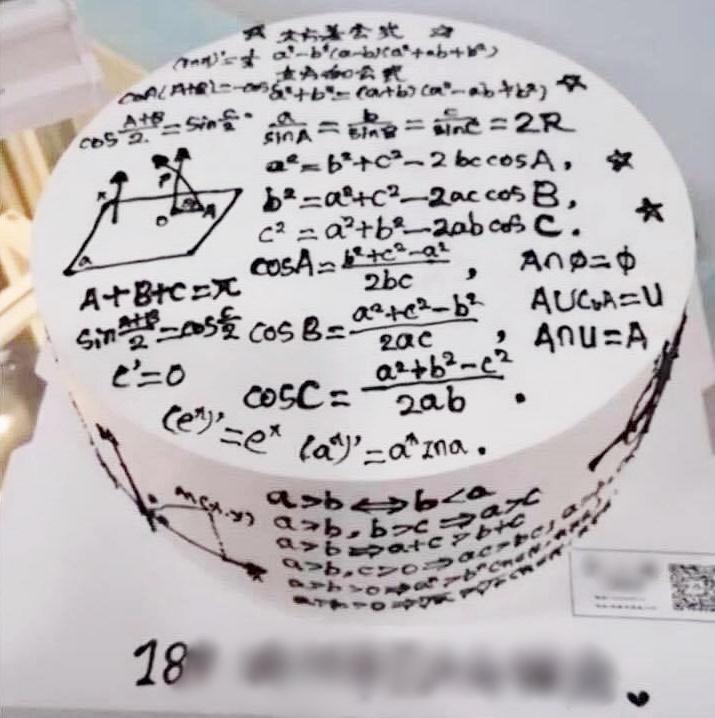 Những chiếc bánh mừng 20/11 vừa nhìn qua đã muốn 'trầm cảm', đến thầy cô trông thấy cũng giật mình 2