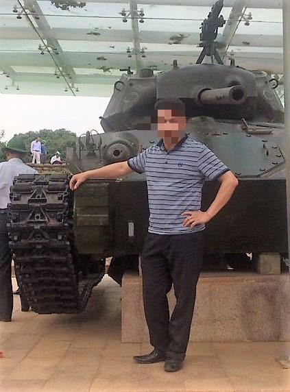 Ông Cao Văn Chí lúc còn sống. Ảnh: CTV