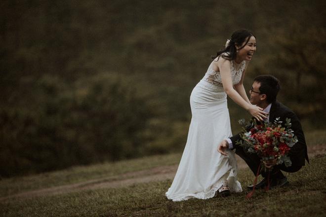 Quyền hiệu trưởng 9X đèo bạn gái đi 100km tìm thầy bói: Nghe phán xong, cả hai liền đi Đà Lạt chụp ảnh cưới 3
