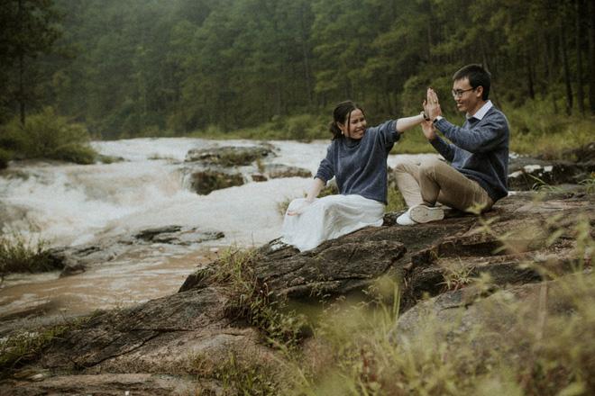 Cặp đôi Trúc Ly và Thái Sang.