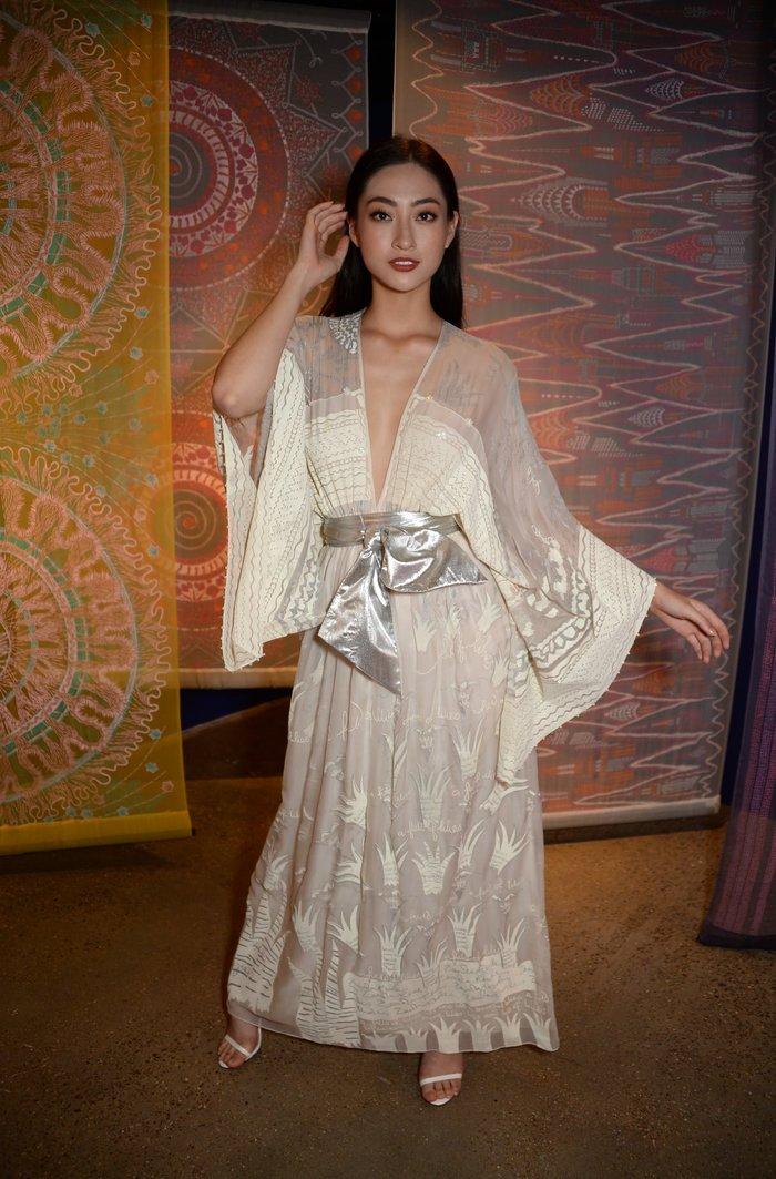 Lương Thùy Linh lọt Top 10 phần thi Top Model - Miss World 2019.