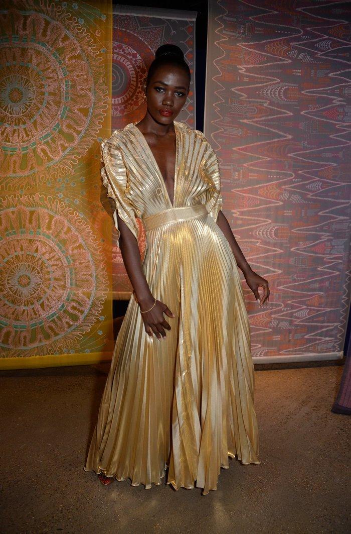 Hoa hậu Uganda.