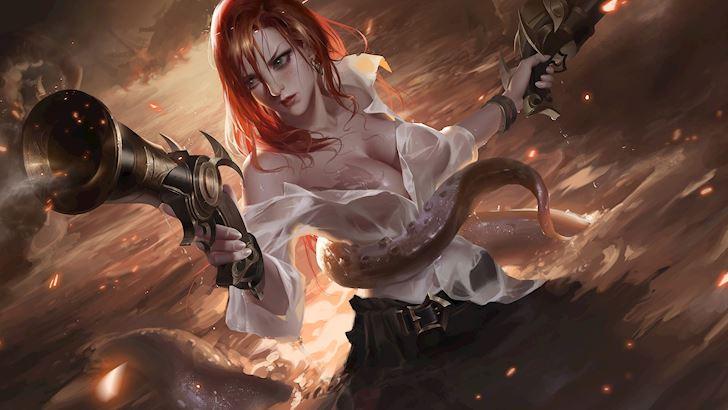 Những vị tướng nữ có thân hình nóng bỏng nhất Liên Minh Huyền Thoại 1