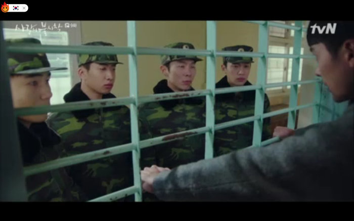 Jung Hyuk cho người loan tin mình là con cục trưởng.
