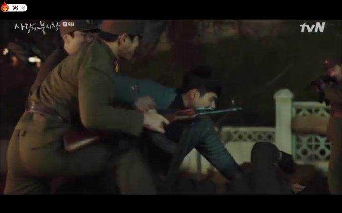 Jung Hyuk bị Chul Kang bắt.