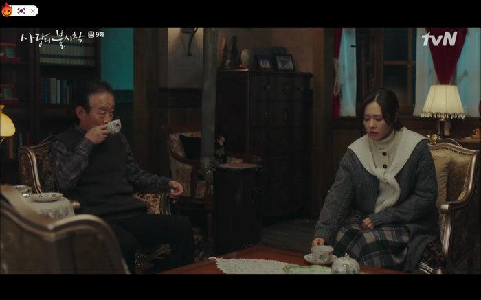 Cuộc gặp dở khóc dở cười của Se Ri và bố Jung Hyuk.