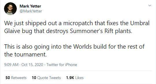 Trưởng nhóm thiết kế Riot Games thông báo chỉnh sửa Kiếm Âm U.